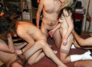 college coed orgy