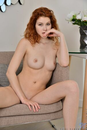 redhead young nude