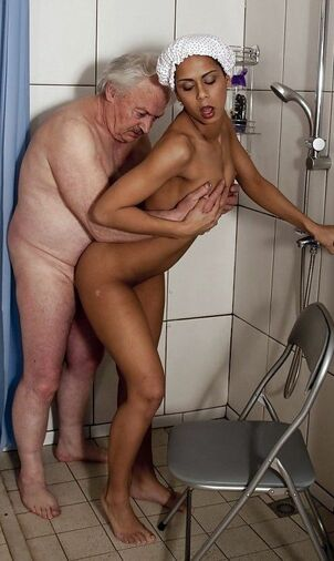 older man fucking younger woman